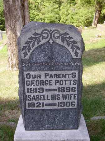 POTTS, ISABELL - Meigs County, Ohio | ISABELL POTTS - Ohio Gravestone Photos