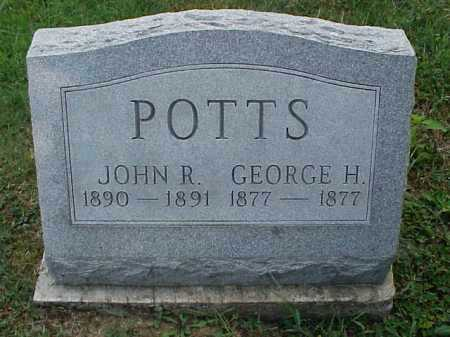 POTTS, JOHN R. - Meigs County, Ohio | JOHN R. POTTS - Ohio Gravestone Photos