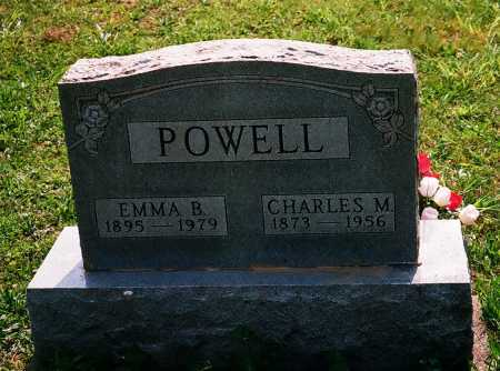 POWELL, CHARLES M. - Meigs County, Ohio | CHARLES M. POWELL - Ohio Gravestone Photos