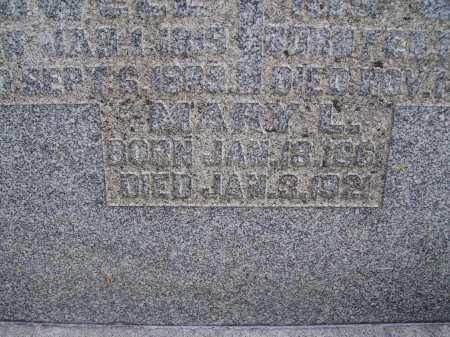POWELL, MARY L. - Meigs County, Ohio | MARY L. POWELL - Ohio Gravestone Photos