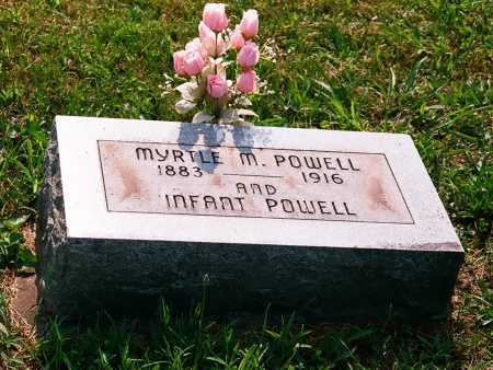 POWELL, MYRTLE M. - Meigs County, Ohio | MYRTLE M. POWELL - Ohio Gravestone Photos