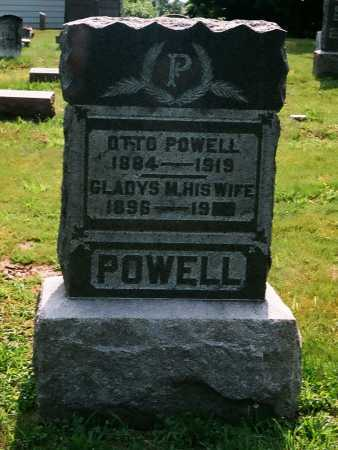 POWELL, OTTO - Meigs County, Ohio | OTTO POWELL - Ohio Gravestone Photos