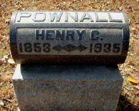 POWNALL, HENRY C. - Meigs County, Ohio | HENRY C. POWNALL - Ohio Gravestone Photos