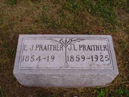 PHILLIPS PRAITHER, ELEANOR J. - Meigs County, Ohio | ELEANOR J. PHILLIPS PRAITHER - Ohio Gravestone Photos
