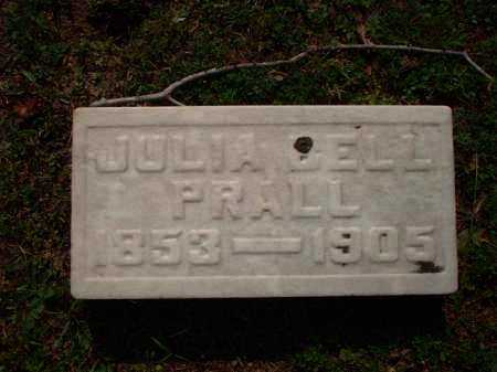 PRALL, JULIA BELL - Meigs County, Ohio | JULIA BELL PRALL - Ohio Gravestone Photos