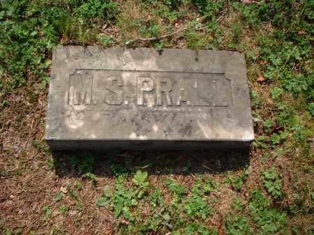 PRALL, M.S. - Meigs County, Ohio | M.S. PRALL - Ohio Gravestone Photos