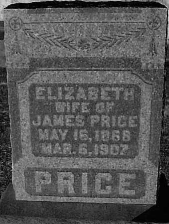 PRICE, ELIZABETH - Meigs County, Ohio | ELIZABETH PRICE - Ohio Gravestone Photos