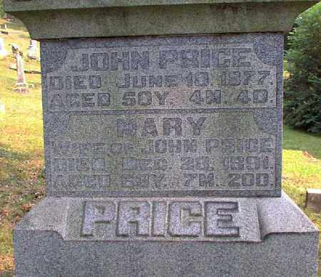 PRICE, MARY - Meigs County, Ohio | MARY PRICE - Ohio Gravestone Photos