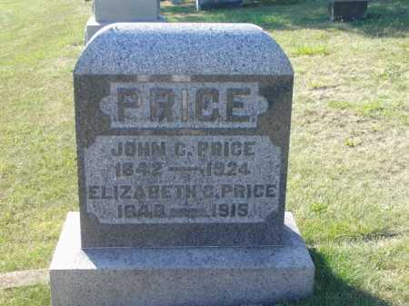 PRICE, ELIZABETH C - Meigs County, Ohio | ELIZABETH C PRICE - Ohio Gravestone Photos
