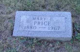 PRICE, MARY E - Meigs County, Ohio | MARY E PRICE - Ohio Gravestone Photos