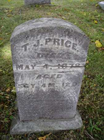 PRICE, T.J. - Meigs County, Ohio | T.J. PRICE - Ohio Gravestone Photos