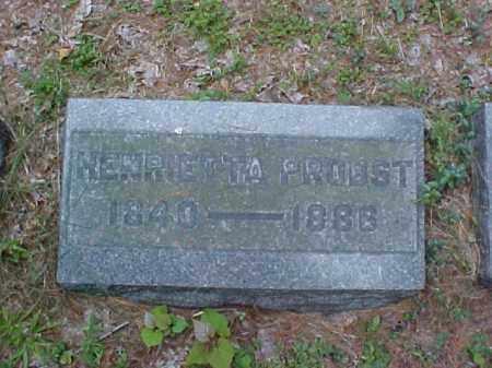 PROBST, HENRIETTA - Meigs County, Ohio | HENRIETTA PROBST - Ohio Gravestone Photos