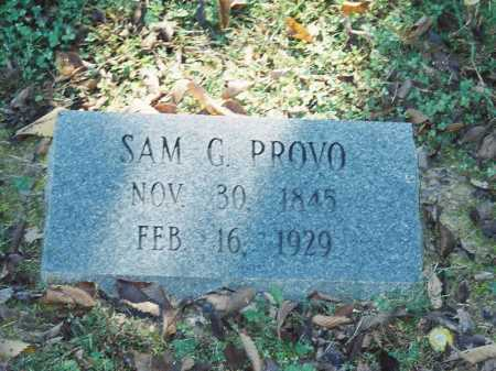PROVO, SAM G. - Meigs County, Ohio | SAM G. PROVO - Ohio Gravestone Photos
