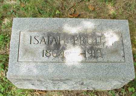 PRUITT, ISAIAH - Meigs County, Ohio | ISAIAH PRUITT - Ohio Gravestone Photos