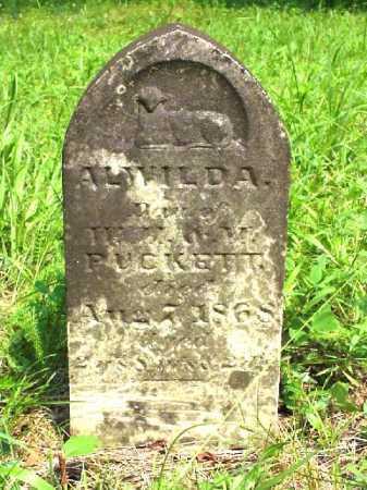 PUCKET, ALWILDA - Meigs County, Ohio | ALWILDA PUCKET - Ohio Gravestone Photos
