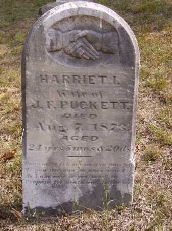 PUCKETT, HARRIET I. - Meigs County, Ohio | HARRIET I. PUCKETT - Ohio Gravestone Photos