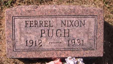 NIXON PUGH, FERREL - Meigs County, Ohio | FERREL NIXON PUGH - Ohio Gravestone Photos