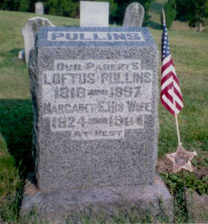 PULLINS, LOFTUS - Meigs County, Ohio | LOFTUS PULLINS - Ohio Gravestone Photos