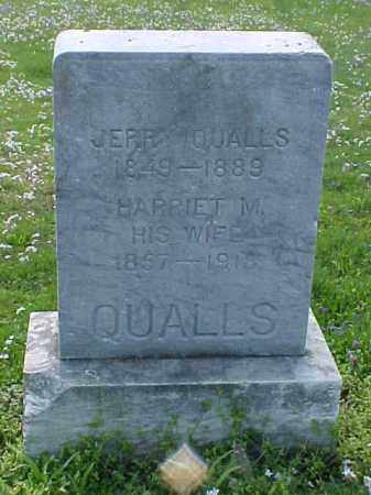 QUALLS, HARRIET M. - Meigs County, Ohio | HARRIET M. QUALLS - Ohio Gravestone Photos