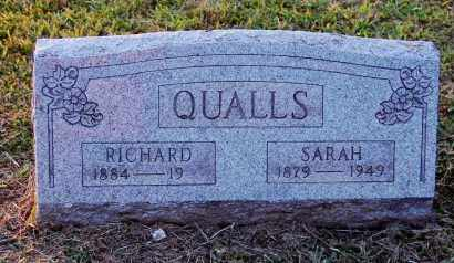 QUALLS, SARAH - Meigs County, Ohio | SARAH QUALLS - Ohio Gravestone Photos