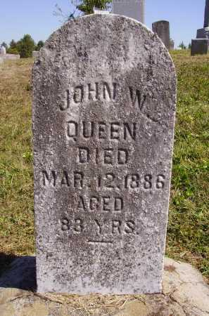 QUEEN, JOHN W. - Meigs County, Ohio | JOHN W. QUEEN - Ohio Gravestone Photos