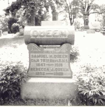 QUEEN, REBECCA J. - Meigs County, Ohio | REBECCA J. QUEEN - Ohio Gravestone Photos