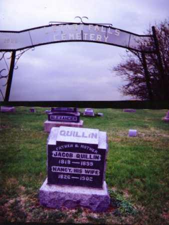 ROUSH QUILLIN, NANCY - Meigs County, Ohio | NANCY ROUSH QUILLIN - Ohio Gravestone Photos