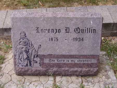 QUILLIN, LORENZO D. - Meigs County, Ohio | LORENZO D. QUILLIN - Ohio Gravestone Photos