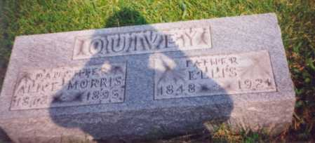 MORRIS QUIVEY, ALICE - Meigs County, Ohio | ALICE MORRIS QUIVEY - Ohio Gravestone Photos