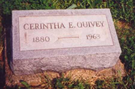 BRICKLES QUIVEY, CERINTHA E. (AKA CYNTHIA) - Meigs County, Ohio | CERINTHA E. (AKA CYNTHIA) BRICKLES QUIVEY - Ohio Gravestone Photos