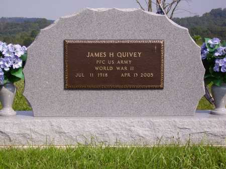 QUIVEY, JAMES H. - Meigs County, Ohio | JAMES H. QUIVEY - Ohio Gravestone Photos