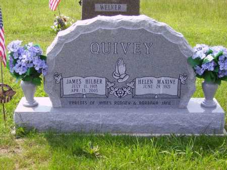 QUIVEY, JAMES HILBER - Meigs County, Ohio | JAMES HILBER QUIVEY - Ohio Gravestone Photos