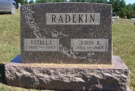RADEKIN, JOHN E. - Meigs County, Ohio | JOHN E. RADEKIN - Ohio Gravestone Photos