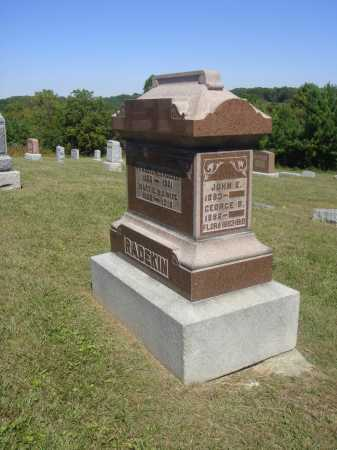 RADEKIN, FAMILY MONUMENT - Meigs County, Ohio   FAMILY MONUMENT RADEKIN - Ohio Gravestone Photos