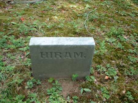 RADFORD, HIRAM - Meigs County, Ohio | HIRAM RADFORD - Ohio Gravestone Photos