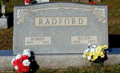 RADFORD, HOMER - Meigs County, Ohio | HOMER RADFORD - Ohio Gravestone Photos