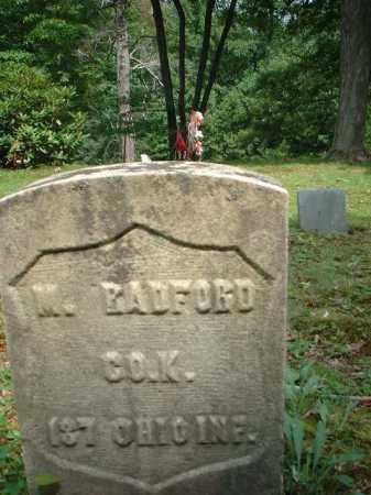 RADFORD, M. - Meigs County, Ohio | M. RADFORD - Ohio Gravestone Photos