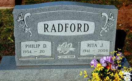 RADFORD, PHILIP D. - Meigs County, Ohio | PHILIP D. RADFORD - Ohio Gravestone Photos