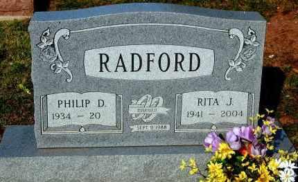 RADFORD, RITA J. - Meigs County, Ohio | RITA J. RADFORD - Ohio Gravestone Photos