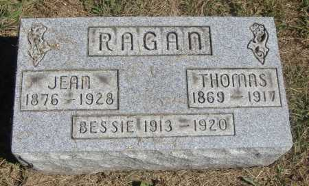RAGAN, JEAN - Meigs County, Ohio | JEAN RAGAN - Ohio Gravestone Photos
