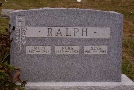 RALPH, NORA - Meigs County, Ohio | NORA RALPH - Ohio Gravestone Photos