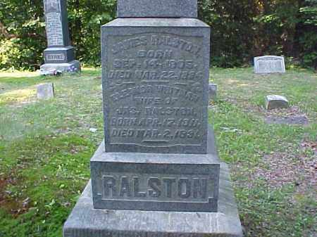 RALSTON, ELEANOR - Meigs County, Ohio | ELEANOR RALSTON - Ohio Gravestone Photos