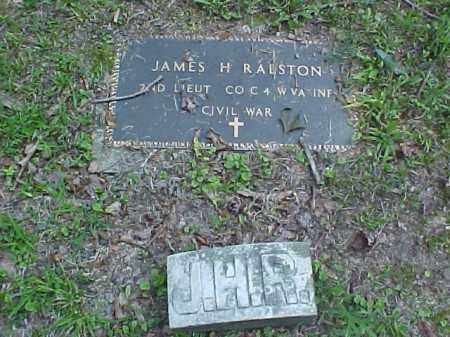 RALSTON, JAMES H. - Meigs County, Ohio | JAMES H. RALSTON - Ohio Gravestone Photos