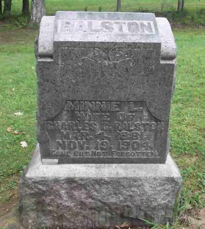RALSTON, MINNIE L. - Meigs County, Ohio | MINNIE L. RALSTON - Ohio Gravestone Photos