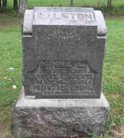 MATLACK RALSTON, MINNIE L. - Meigs County, Ohio | MINNIE L. MATLACK RALSTON - Ohio Gravestone Photos