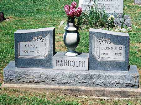 RANDOLPH, CLYDE - Meigs County, Ohio | CLYDE RANDOLPH - Ohio Gravestone Photos