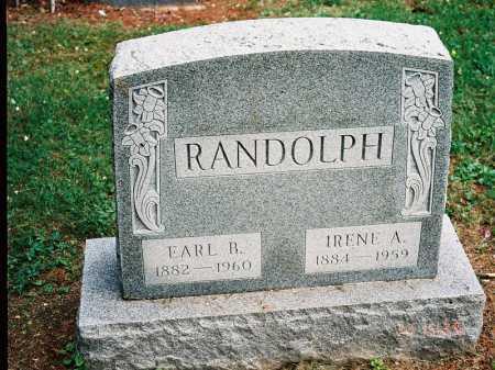 RANDOLPH, EARL B. - Meigs County, Ohio | EARL B. RANDOLPH - Ohio Gravestone Photos