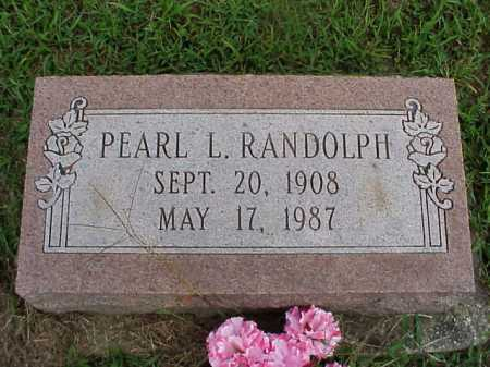 RANDOLPH, PEARL L. - Meigs County, Ohio | PEARL L. RANDOLPH - Ohio Gravestone Photos