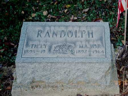 RANDOLPH, MAJOR - Meigs County, Ohio | MAJOR RANDOLPH - Ohio Gravestone Photos