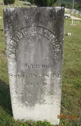 RATHBURN, DANIEL - Meigs County, Ohio | DANIEL RATHBURN - Ohio Gravestone Photos